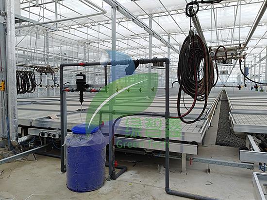 溫室施肥機廠家-全自動蔬菜大棚施肥機